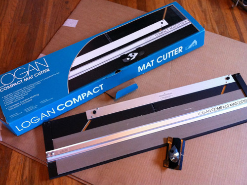 logan compact mat cutter instructions