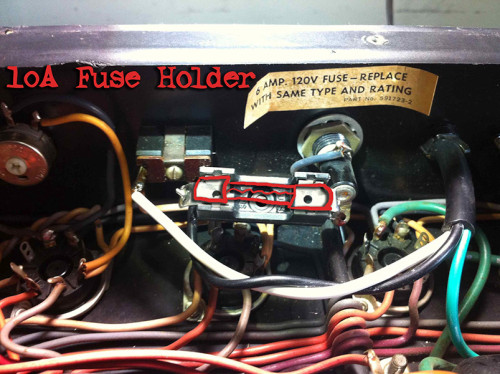 ampeg v4-b fuse holder