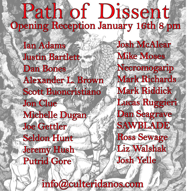 Path of Dissent Art Show