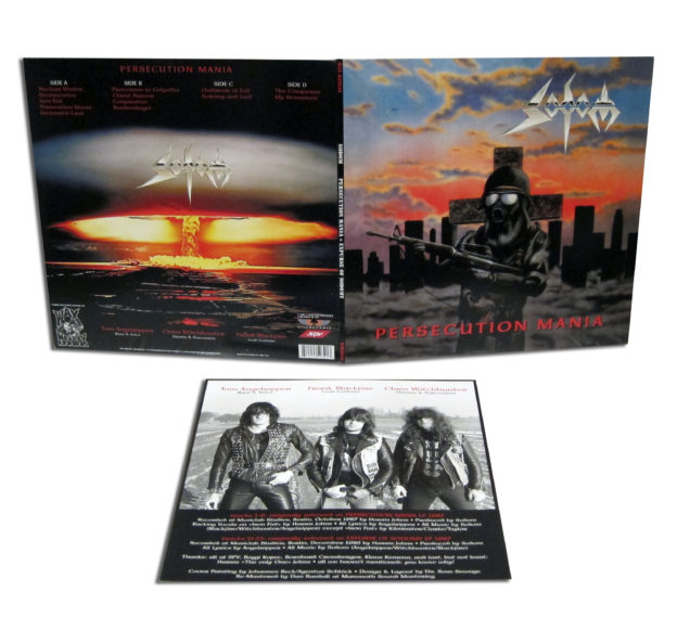 Sodom – Persecution Mania re-issue